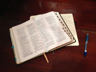 OUR DAILY BREAD:  THREE STEPS TO DAILY BIBLE READING