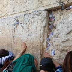 ROCKING AT THE WAILING WALL
