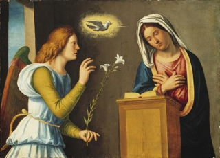 THE COURAGE OF MARY – The Annunciation