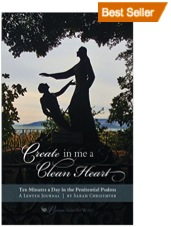 Statue of Jesus and Peter by Sea of Galilee, Create in Me a Clean Heart