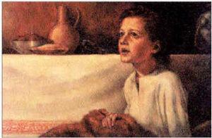 Samuel hears God calling