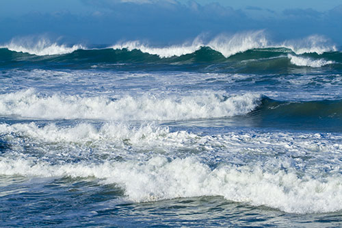 WHEN THE WAVES COME … STAY IN THE BOAT