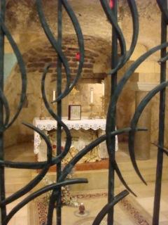 Annunciation grotto