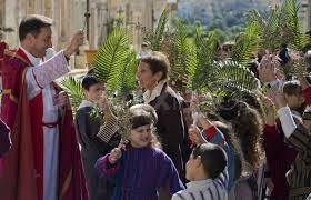 Palm Sunday procession
