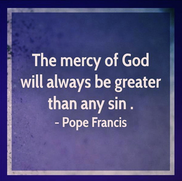 "GOD CALLS HIMSELF ""MERCY"""