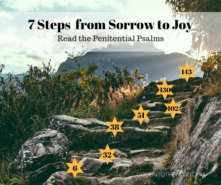 7 Steps from Sorrow to Joy: read the Penitential Psalms for Lent