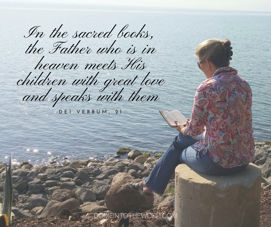 In the sacred books, the Father who is in heaven meets His ... Sacred Speak With Sarah